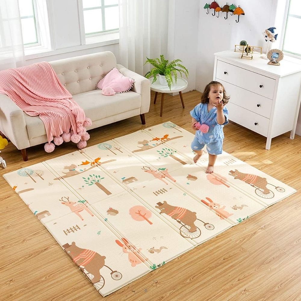 soft surface for playing crawling